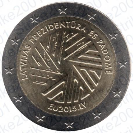 Lettonia - 2€ Commemorativo 2015 Presidenza
