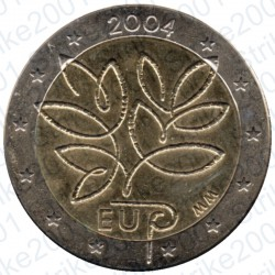 Finlandia - 2€ Comm. 2004 FDC Allargamento U.E.
