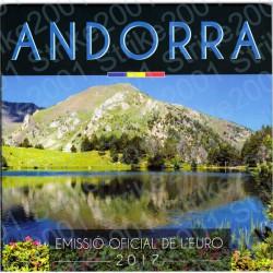 Andorra - Divisionale Ufficiale 2017 FDC