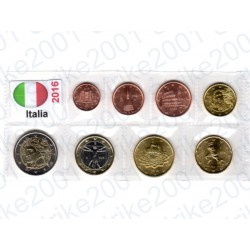 Italia - Blister 2016 FDC