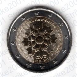 Francia - 2€ Comm. 2018 FDC Fiordaliso - Bleuet