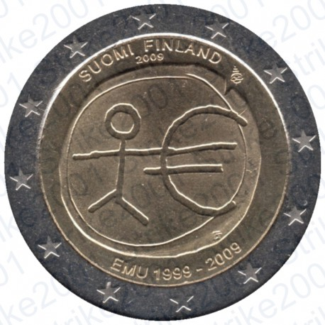Finlandia - 2€ Comm. 2009 FDC EMU