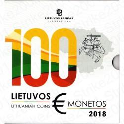 Lituania - Divisionale Ufficiale 2018 FDC