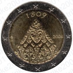 Finlandia - 2€ Comm. 2009 FDC 200° Ann. Fine Guerra