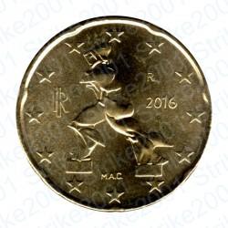 Italia 2016 - 20 Cent. FDC