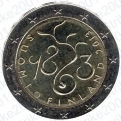 Finlandia - 2€ Comm. 2013 FDC 150° Ann. Parlamento