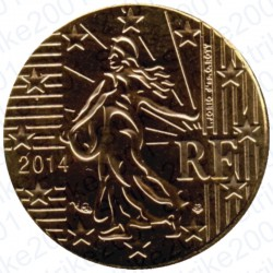 Francia 2014 - 10 Cent. FDC
