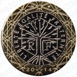 Francia 2014 - 1€ FDC