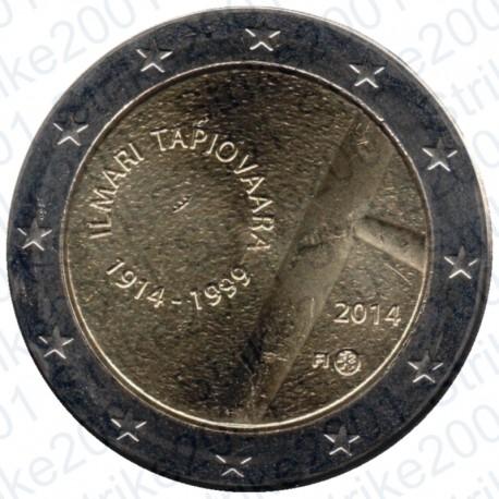 Finlandia - 2€ Comm. 2014 FDC llmari Tapiovaara