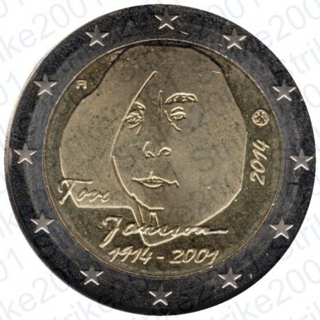 Finlandia - 2€ Comm. 2014 FDC Tove Jansson