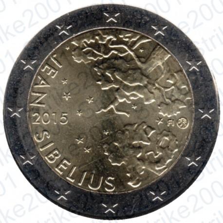 Finlandia - 2€ Comm. 2015 FDC Jean Sibelius