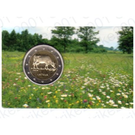 Lettonia - 2€ Comm. 2016 FOLDER Settore agro-alimentare FDC