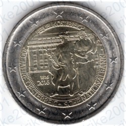 Austria - 2€ Comm. 2016 FDC Banca Nazionale