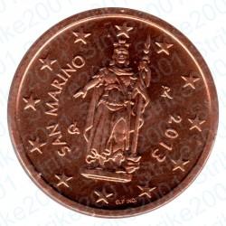 San Marino 2013 - 2 Cent. FDC