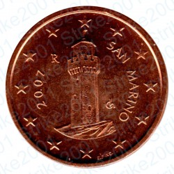 San Marino 2007 - 1 Cent. FDC