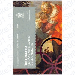 San Marino - 2€ Comm. 2018 FDC Tintoretto in Folder