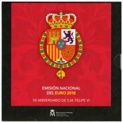 Spagna - Divisionale Ufficiale 2018 FDC
