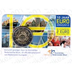 Olanda - 2€ Comm. 2012 FDC Anniversario in Folder