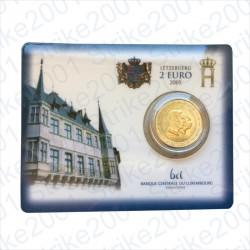 Lussemburgo - 2€ Comm. 2005 FDC Granduchi Henry e Adolfo in Folder