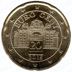 Austria 2018 - 20 Cent. FDC