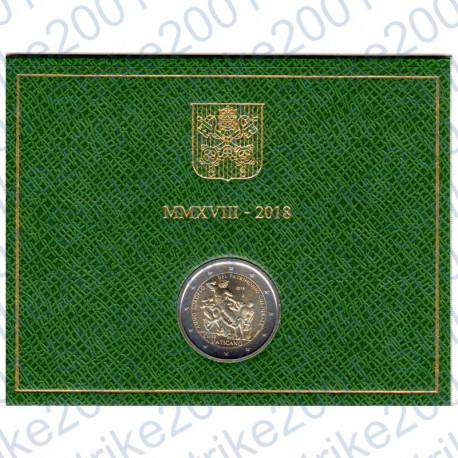 Vaticano - 2€ Comm. 2018 FDC Anno Europeo Patrimonio Culturale in Folder