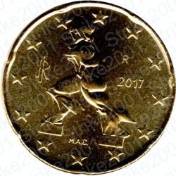 Italia 2017 - 20 Cent. FDC