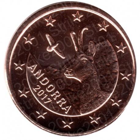 Andorra 2017 - 1 Cent. FDC