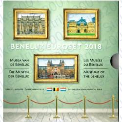Belgio - Serie BENELUX 2018 FDC