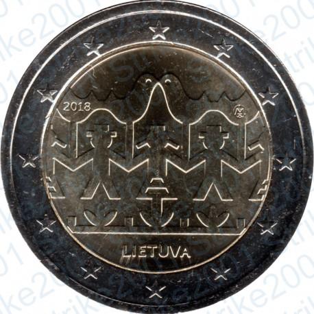 Lituania - 2€ Comm. 2018 FDC Festival Danza e Canzone Lituana