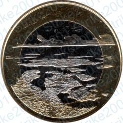 Finlandia - 5€ 2018 FDC Paesaggi Finlandesi Il Mare dell'Arcipelago