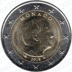 Monaco 2018 - 2€ FDC