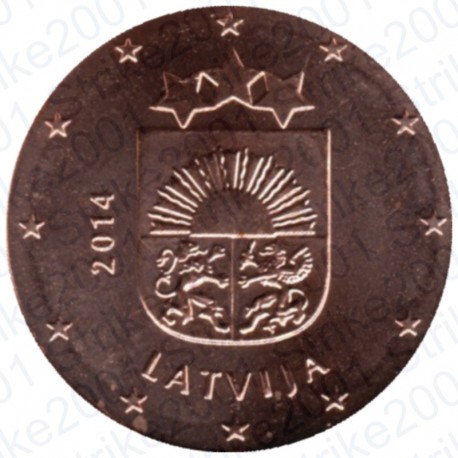 Lettonia 2014 - 1 Cent. FDC