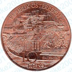Austria - 10€ Rame 2014 FDC Salisburgo
