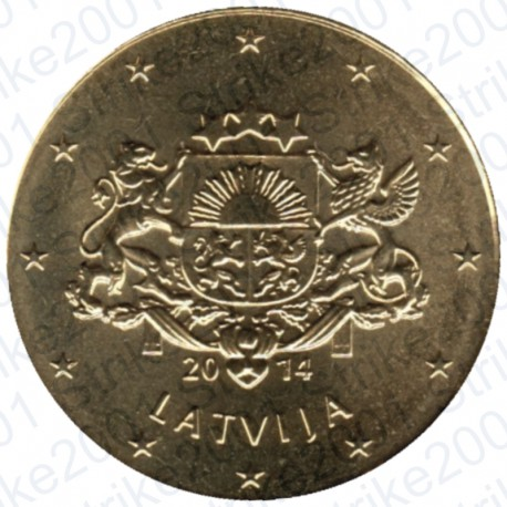 Lettonia 2014 - 10 Cent. FDC