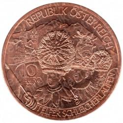 Austria - 10€ Rame 2014 FDC Regioni Tirolo