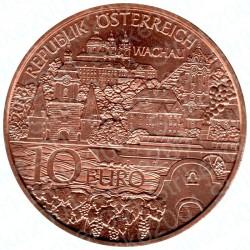 """Austria - 10€ Rame 2013 FDC Valle Austriaca """"Wachau"""""""