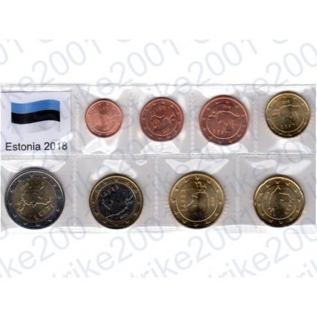 Estonia - Blister 2018 FDC