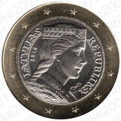 Lettonia 2014 - 1€ FDC