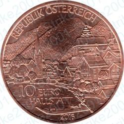 Austria - 10€ Rame 2016 FDC Alta Austria