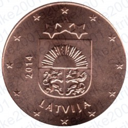 Lettonia 2014 - 2 Cent. FDC