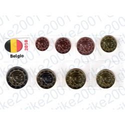 Belgio - Blister 2018 FDC