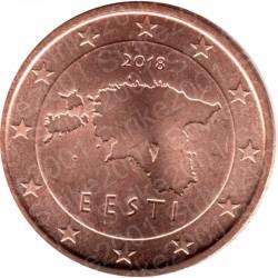 Estonia 2018 - 1 Cent. FDC