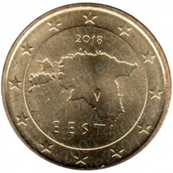 Estonia 2018 - 10 Cent. FDC