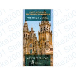 Spagna - 2€ Comm. 2018 FS Santiago de Compostela in Folder