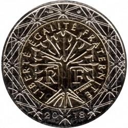 Francia 2018 - 2€ FDC
