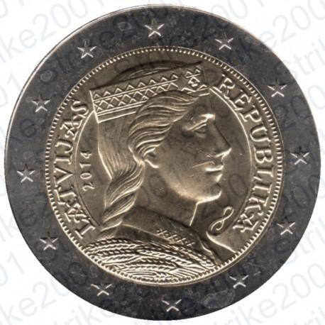 Lettonia 2014 - 2€ FDC