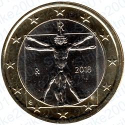 Italia 2018 - 1€ FDC