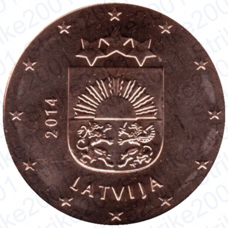 Lettonia 2014 - 5 Cent. FDC