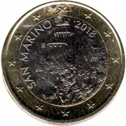 San Marino 2018 - 1€ FDC