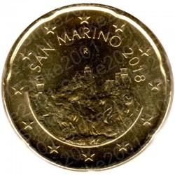San Marino 2018 - 20 Cent. FDC